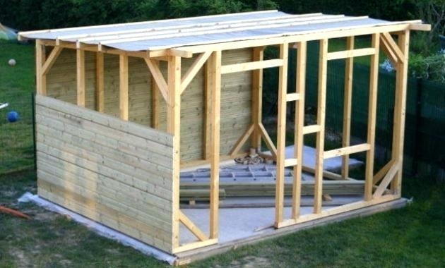 comment construire un abri de jardin en bois id es de. Black Bedroom Furniture Sets. Home Design Ideas